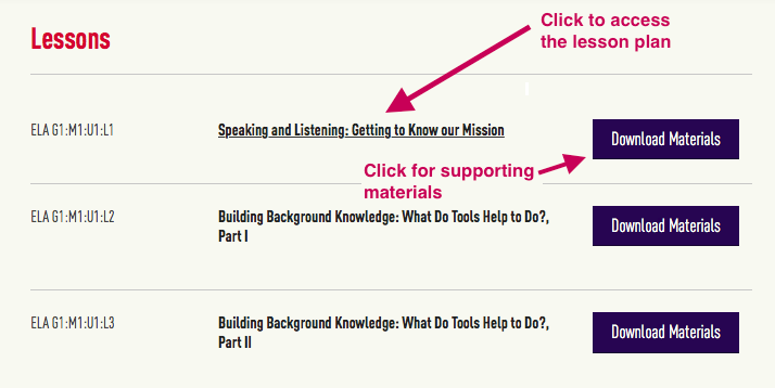 Getting Started Suggestions | EL Education Curriculum